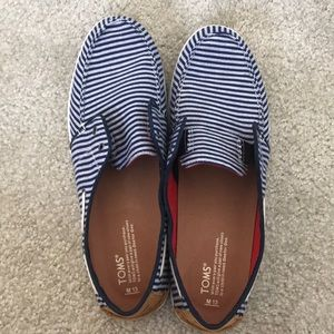 Brand new Toms boat shoes